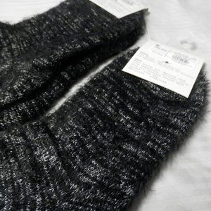 A New Day Feather Yarn Ankle Boot Socks